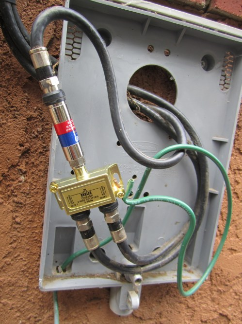 small resolution of original cable utility box modified cable utility box