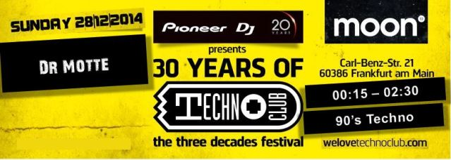 Dr. Motte Live – 30 Years of TechnoClub