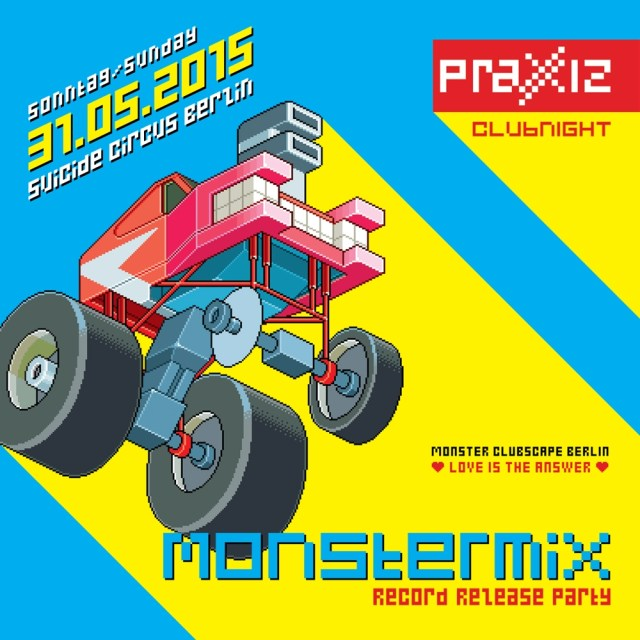 MONSTERMIX Vol. 2 – Record Release Party In Berlin