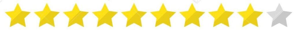 9 star rating
