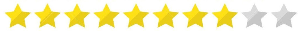 8 star rating