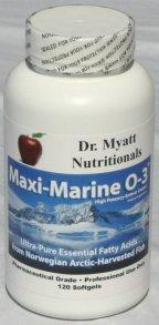 Maxi Marine High Potency Omega-3 Essential Fatty Acids