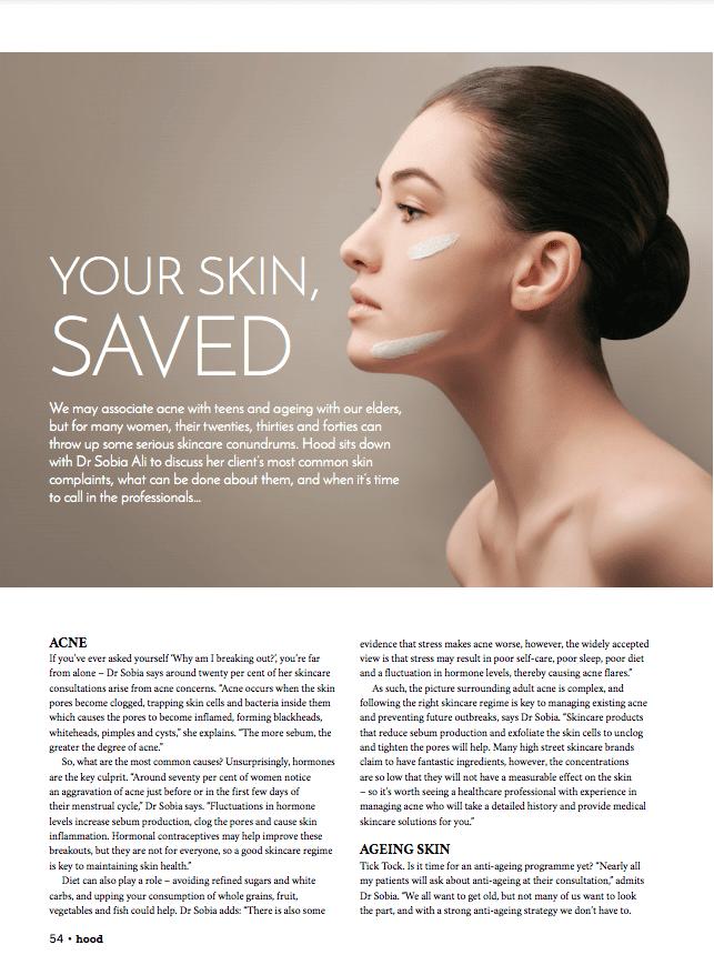 Skin Saved