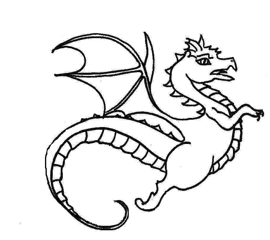 Dragon Coloring Pages 2019: Best, Cool, Funny