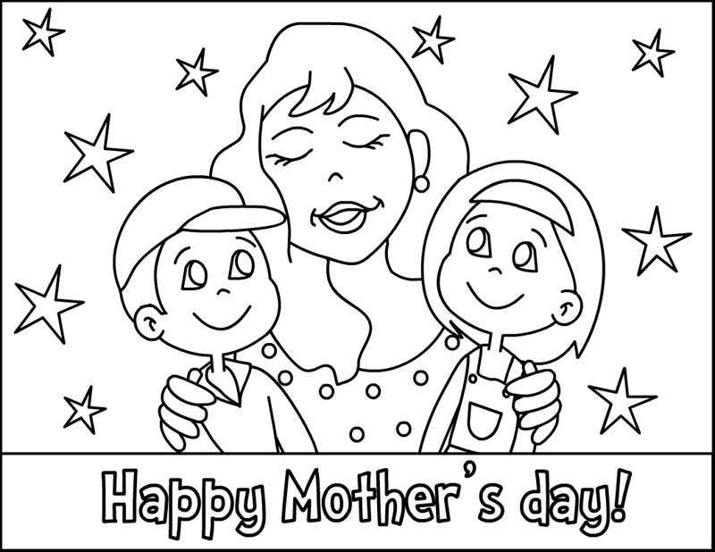 Mothers Day Coloring Pages 2019: Best, Cool, Funny