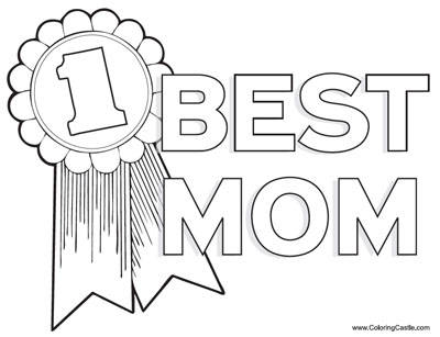 Mothers Day Coloring Pages 2018- Dr. Odd