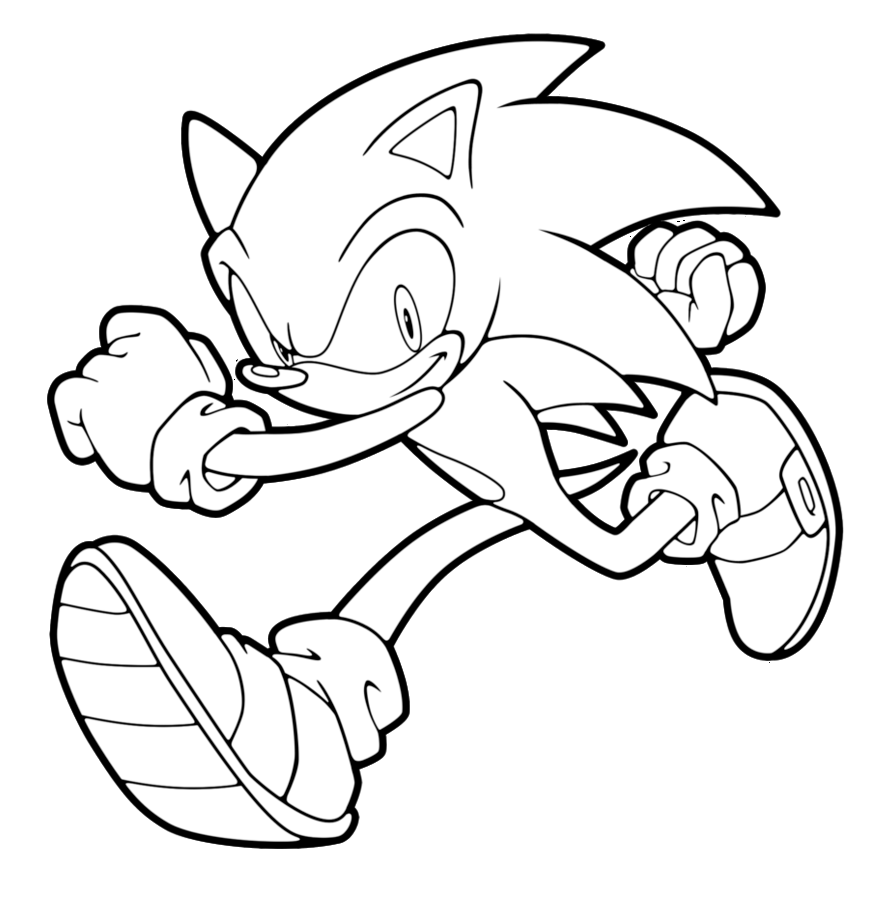 Sonic Coloring Pages 2019- Dr. Odd