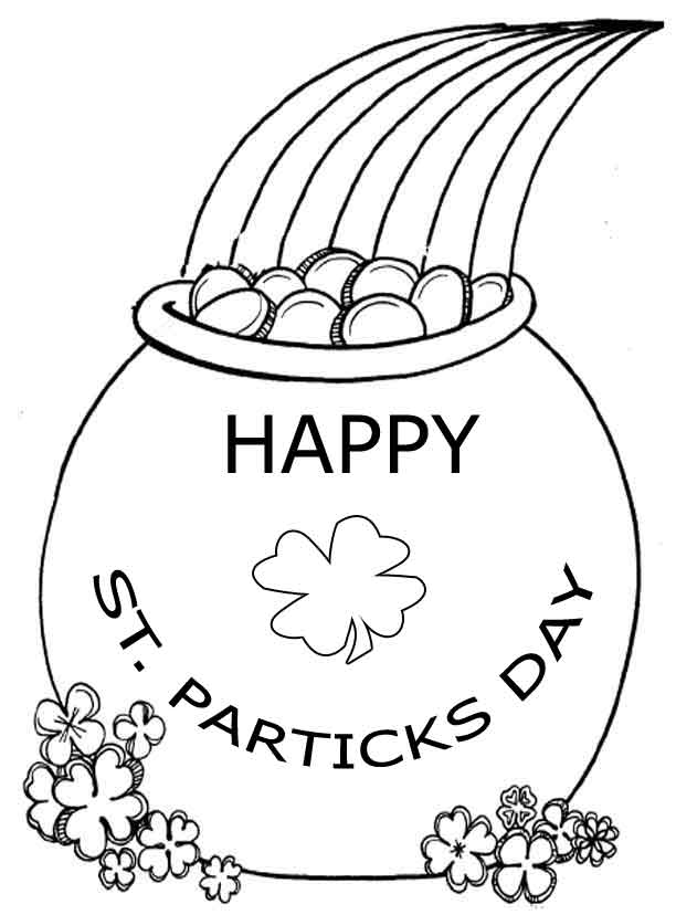 St. Patricks Day Coloring Pages 2019: Best, Cool, Funny