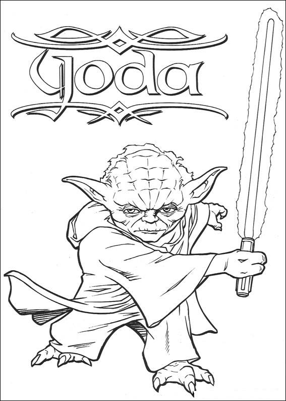 Star Wars Clone Wars Coloring Pages Printable Free Star