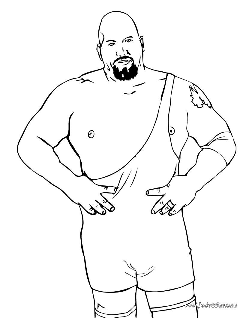 Dibujo De Brock Lesnar De Wwe Para Colorear Dibujos Para Colorear