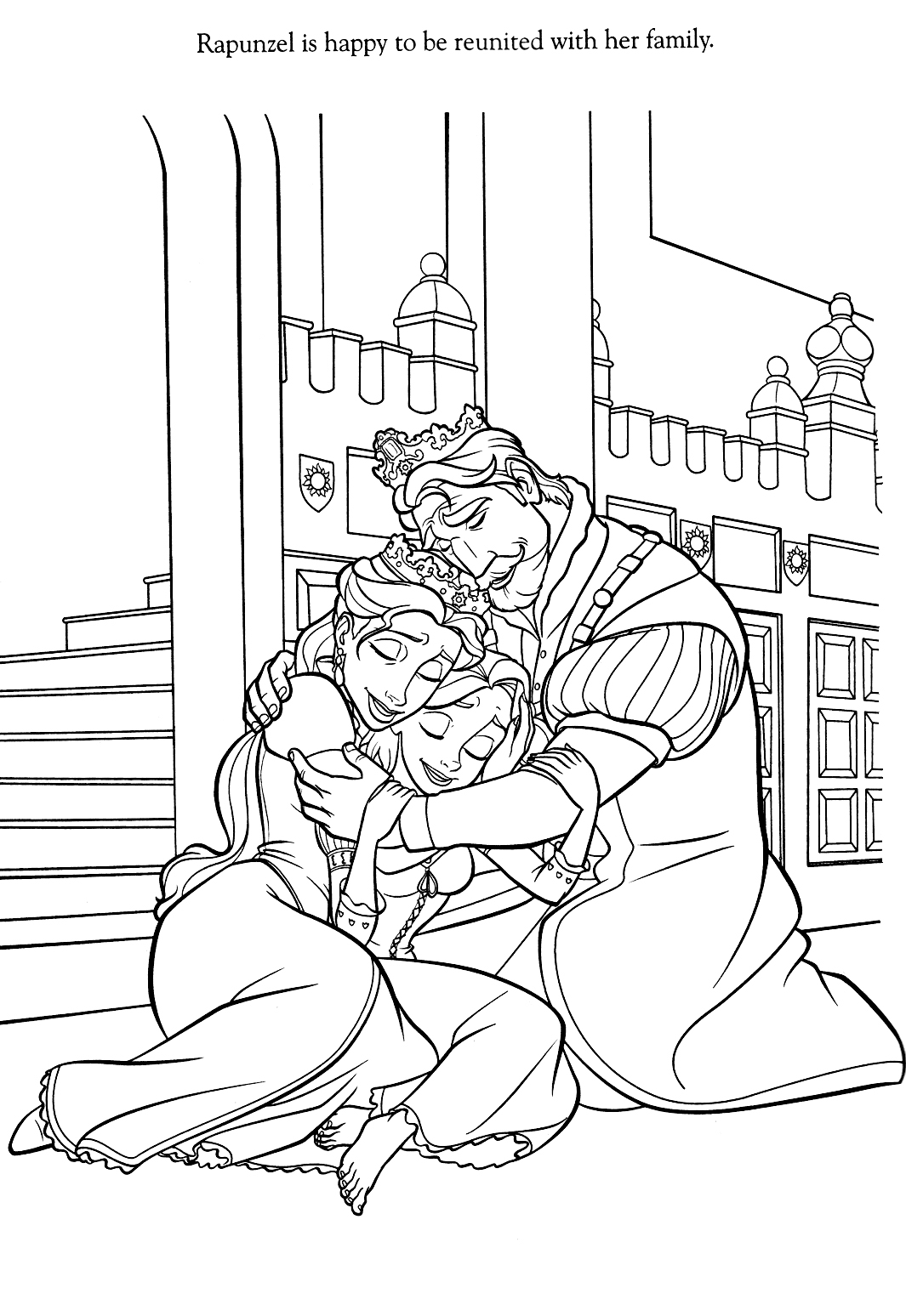 Tangled Coloring Pages Best Cool Funny