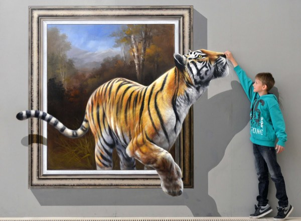 3D Art Painting