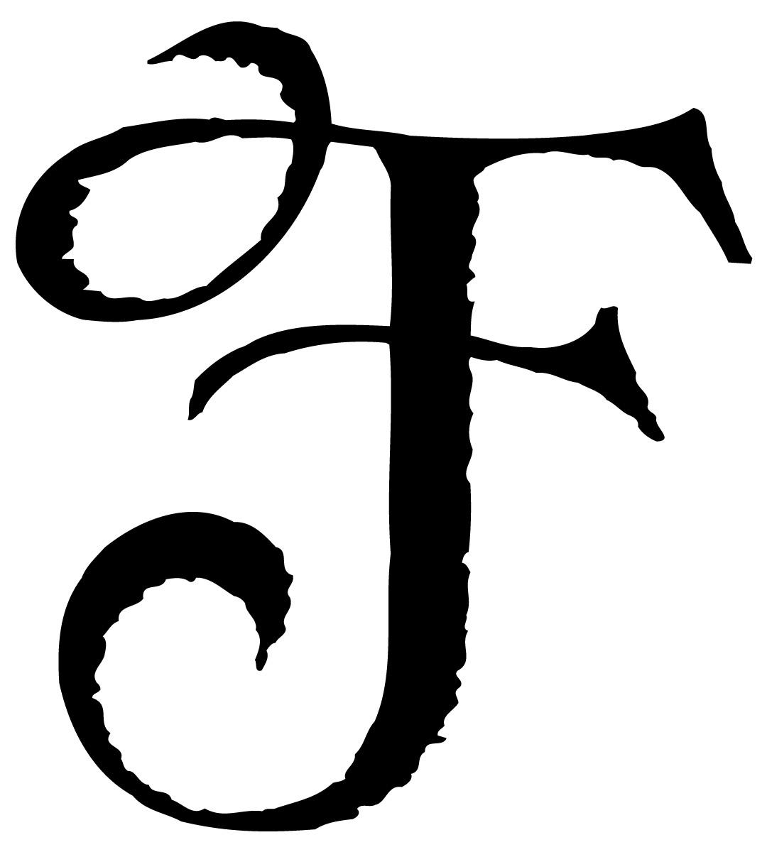 Printable Fancy Letter Fonts