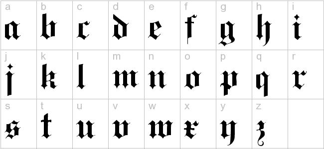 Black Letters Dr Odd