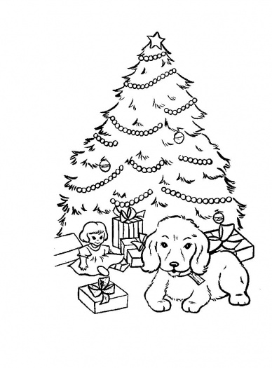 Christmas Tree Coloring Sheets 2019: Best, Cool, Funny