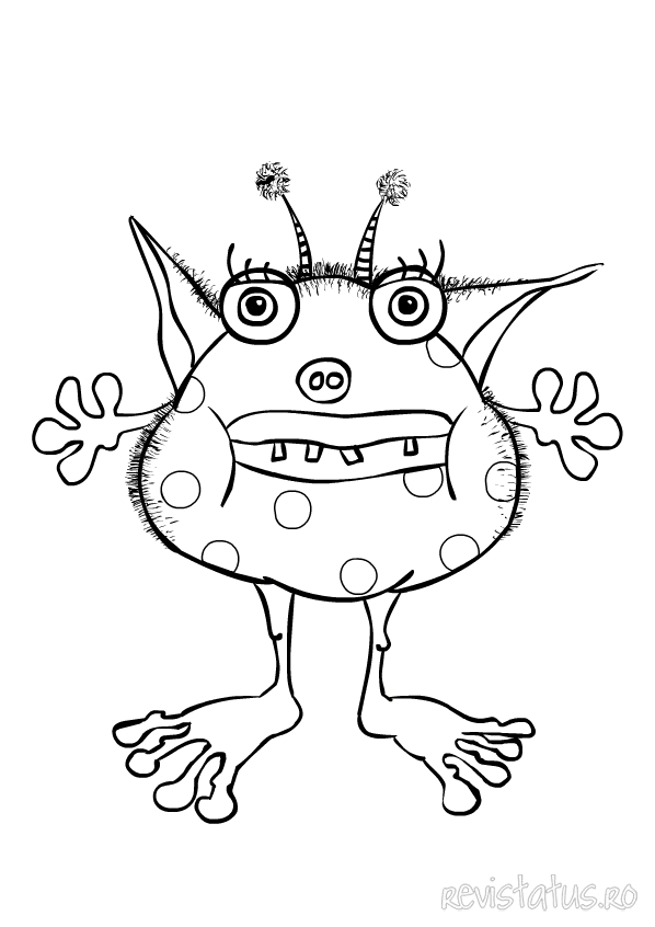 Free coloring pages of monster sonic