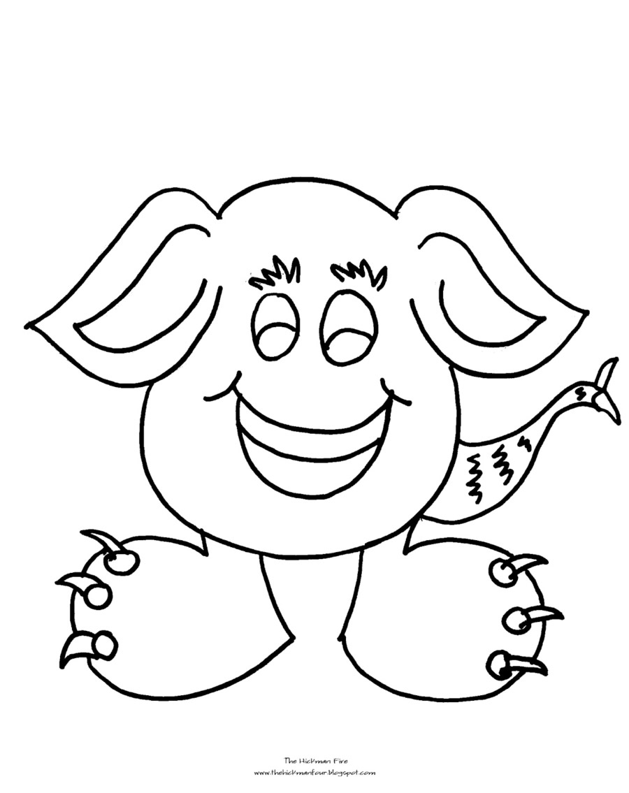 Monster Coloring Pages 2018- Dr. Odd