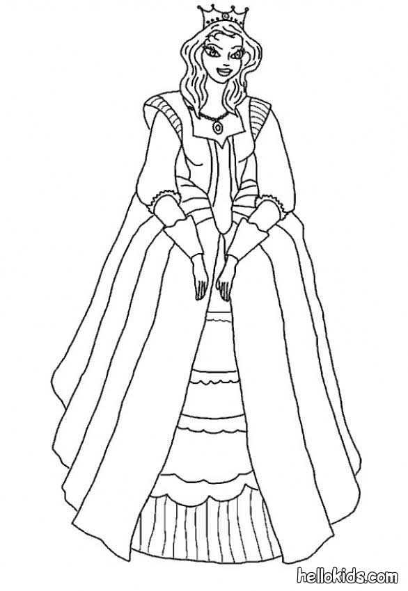 Princess Coloring Pages 2018- Dr. Odd