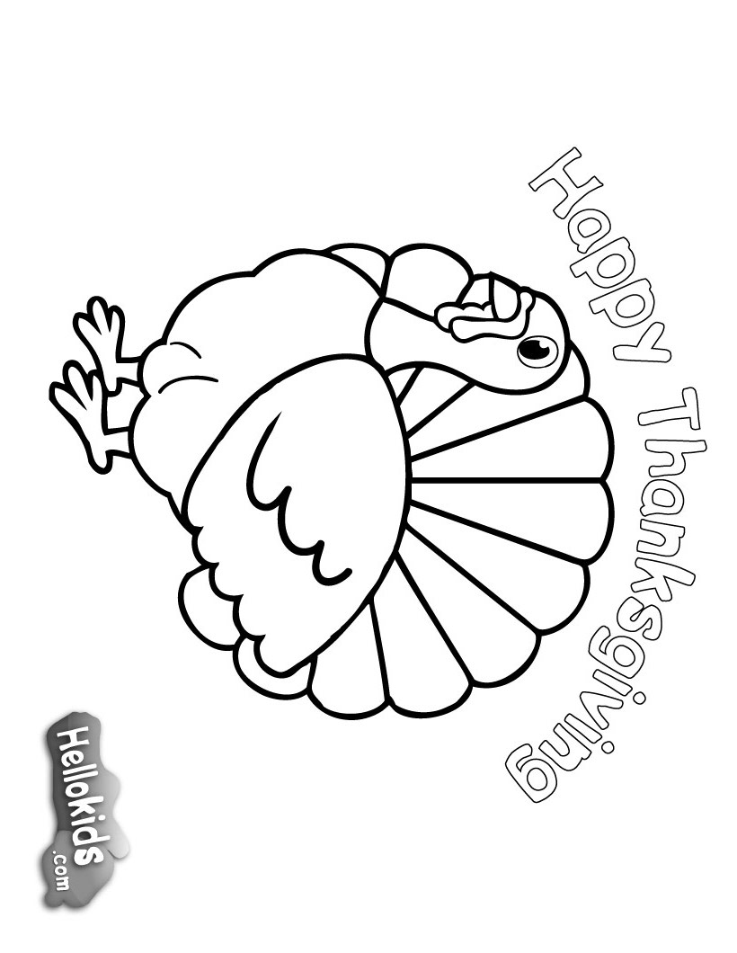 Thanksgiving Coloring Pages 2019: Best, Cool, Funny