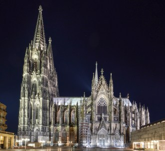 Der Dom bei Nacht