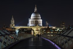 London 2017, Millennium Bridge und St. Pauls Cathedrale