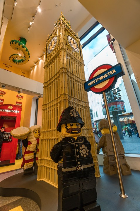 London 2017, Lego Shop