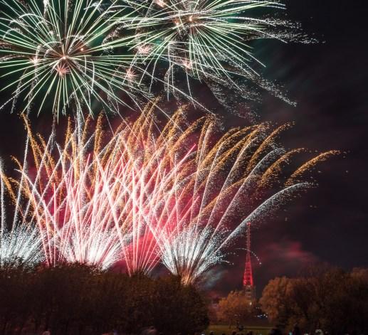 London 2017, Alexander Palace, Feuerwerk