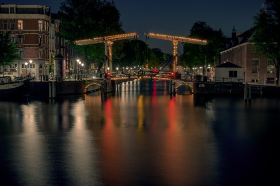 Amsterdam bei Nacht