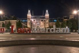 Beim Rijks Museum