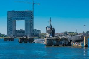 am NDSM Werftgelände