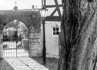 Gelnhausen, an der Kirche St. Peter