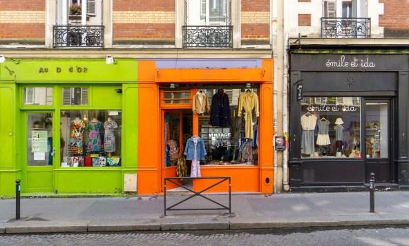 In den Straßen von Paris