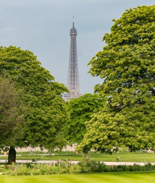 Jardin des Tuileries, Eiffelturm
