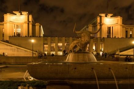Palais de Chaillot, Jardins du Trocadéro