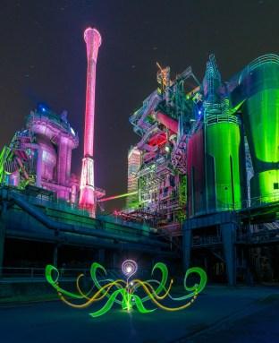 Lightpainting Workshop Duisburg 2019