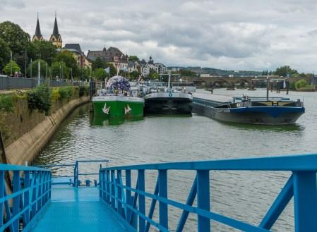 Koblenz, Altstadt, an der Mosel