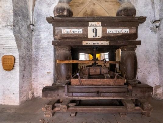Kloster Eberbach, Weinkelter
