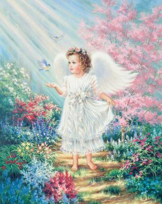 Angiolettogif tante immagini animate di angeli