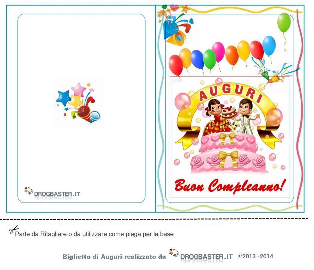 Biglietti Gratis Compleanno Stampa Il Biglietto Dauguri