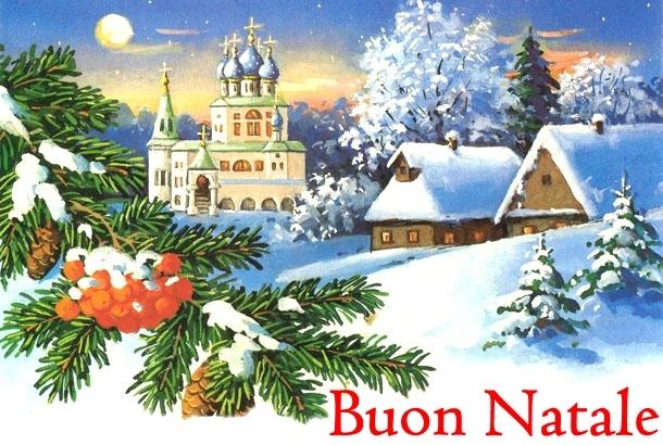 Cartoline Auguri di Buon Natale