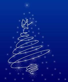 Albero di Natale Gif Animate glitterate immagini natalizie