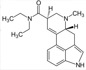 LSD-molekuel