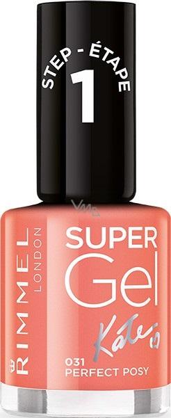 Rimmel London Super Gel By Kate Nail Polish 031 Perfect Posy 12 Ml