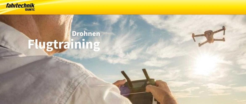 """ÖAMTC Drohnen Flugtraining – """"Fahrtechnik"""" für die Luft"""