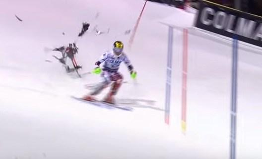 Drohnenunfall Ski Alpin