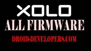 Xolo Firmware