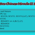 Infinity Box Chinese Miracle II SCR v1.02