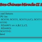 Infinity Box Chinese Miracle II SCR v1.02
