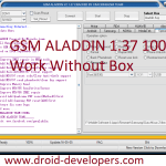 GSM ALADDIN Powered By Miracle team 100% Work Without Box