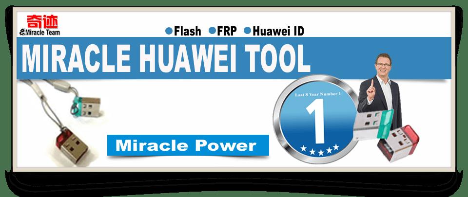Miracle Huawei Tool 2.07